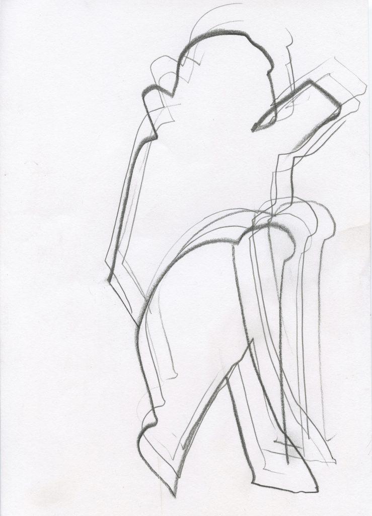 To Dance, des dessins par Christian Grenier